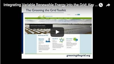 Integrating Variable Renewable Energy into the Grid: Key Issues and Emerging Solutions
