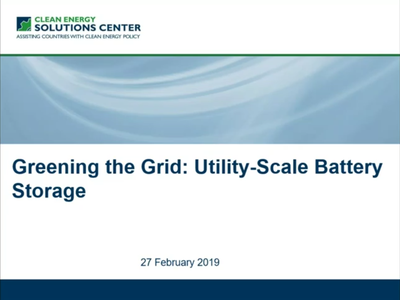 Utility-Scale Battery Storage: When, Where, Why and How Much?