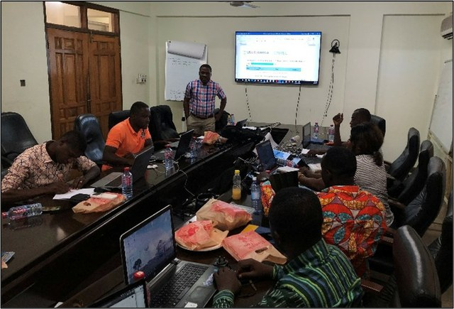 Photo of a conference in ghana